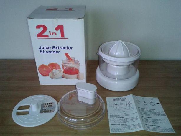 """Storcator de fructe si legume """"2 in 1 Juice Extractor/Schredder""""6 Volt"""