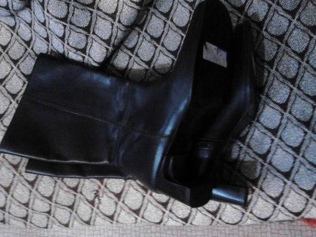 Cizme piele naturala dama CLEO culoare neagra marimea 37 noi