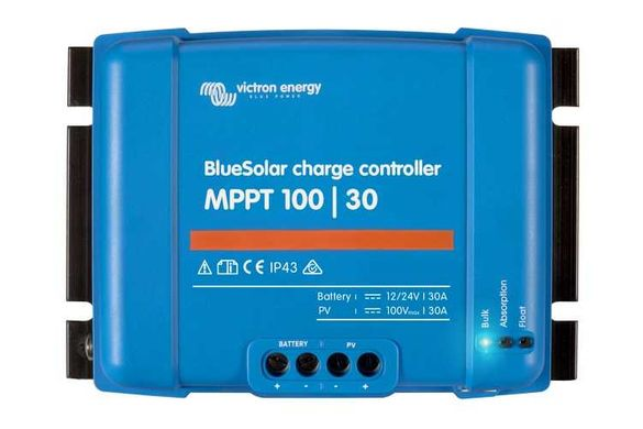 Нов контролер Victron BlueSolar MPPT 100/30 - 12/24 V - 30 A