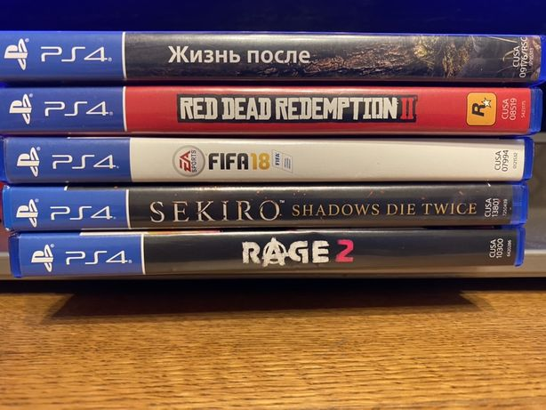 Диски Игры на PS4