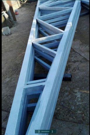 Vand container tip  birou din panou izolat la orice mărime 10x6