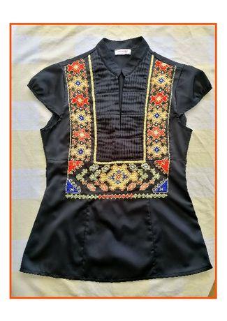 Ръчно бродирана дамска риза , шевица от Елховско,  идея за подарък