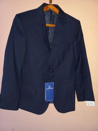 Школьный пиджак. Новый от ANGELHER. 34 размер, Казахстанское производс
