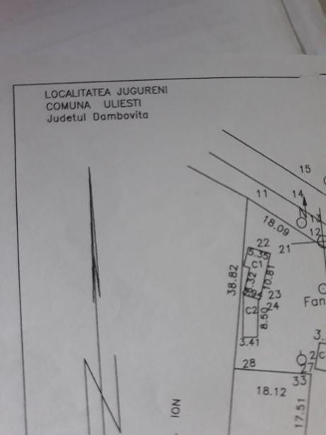 Vand teren intravilan Jugureni Dambovita