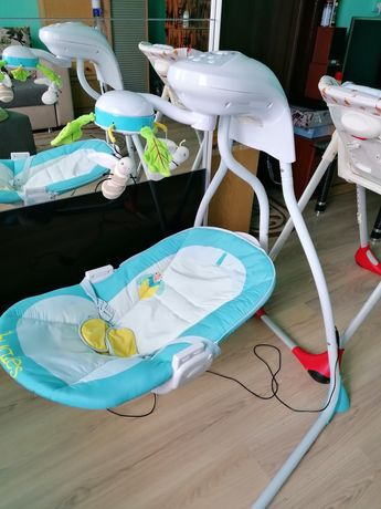 Balansoar bebe electric