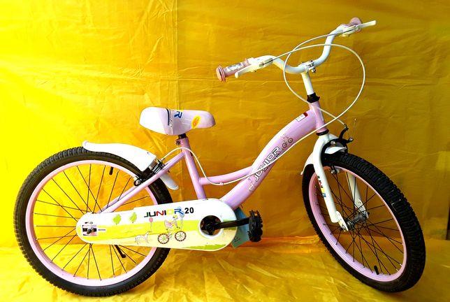 Bicicleta JUNIOR cu roti 20 recomandată copiilor 6 - 10 Ani - NOUA