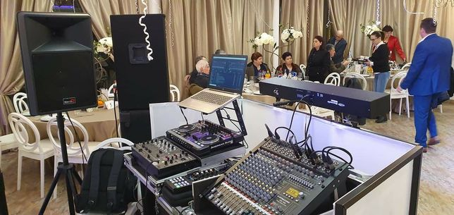 Sonorizare profesionala nunti botezuri aniversari
