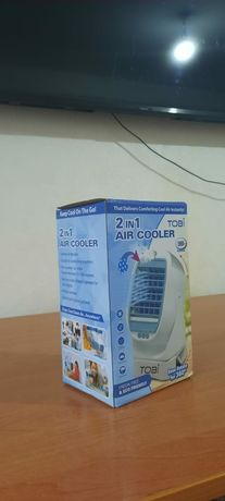 Мини кондёр 2в1 Air cooler Воздухоохлодитель Мини кондиционер