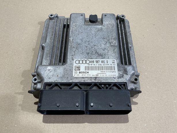 Calculator / Ecu motor Audi A8 4H 3.0 TDI : 4H0907401Q