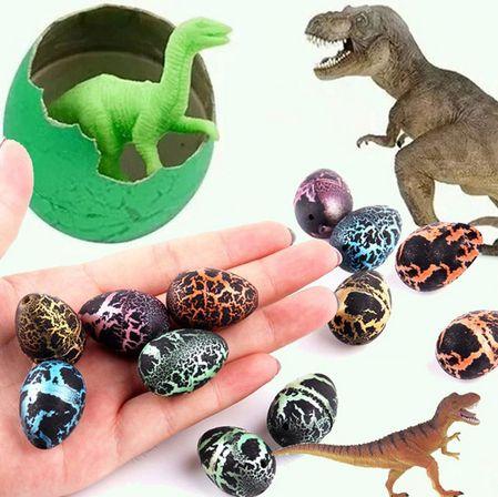 Детска играчка люпещо се яйце - динозавър