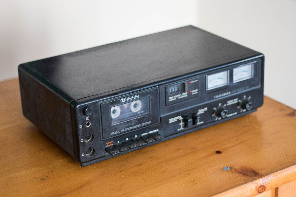 Deck casete audio