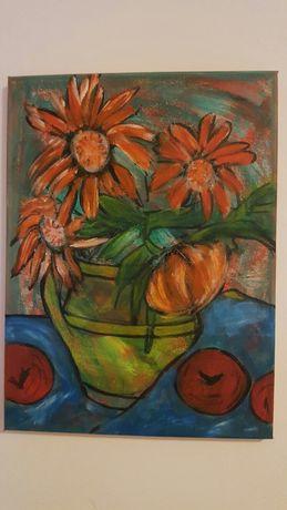 Tablou pictura acrilica 40/30 cm