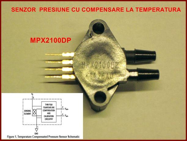 Senzor de presiune MPX 2100DP de Frescale Semiconductor