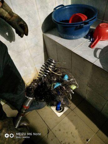 Прочистка канализации, промывка труб в Алматы, чистка труб, недорого