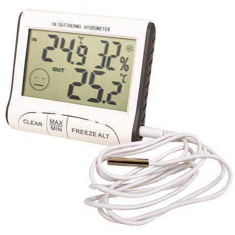 DC103 комнатно-уличный термометр-гигрометр