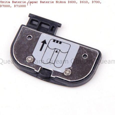 Capace baterie NIKON DSLR D700, D90, D3100, d40, d600, d7000, d300