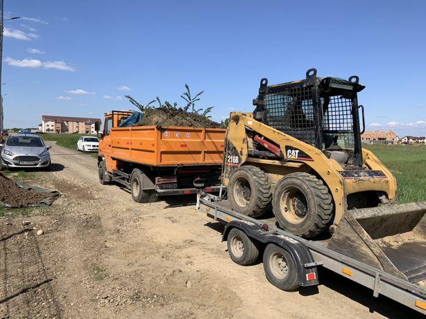 Ridic moloz cu Bobcat, cu camioneta de 6 mc! Cele mai bune preturi