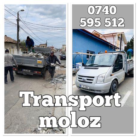 Transport moloz Tulcea