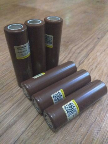 Аккумуляторы 18650 Li-ion, батарейки