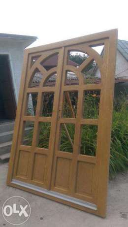 Vand usa exterior lemn masiv frasin triplustratificat