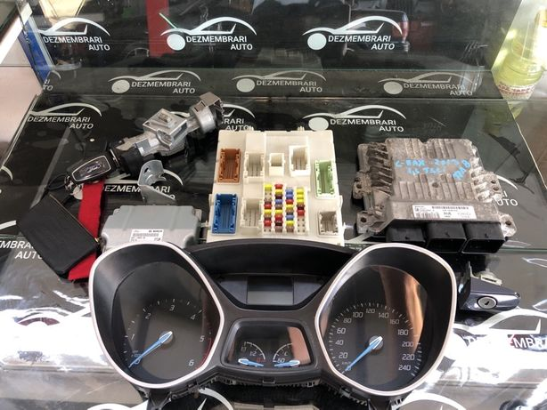 Kit pornire ECU ceasuri bord Cheie modul confort Ford Grand C Max