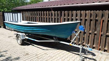Vand barca noua pescuit si agrement model Delta 500, productie 2021