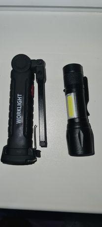Led Фенерче, Led работна лампа с вградена презареждаема батерия