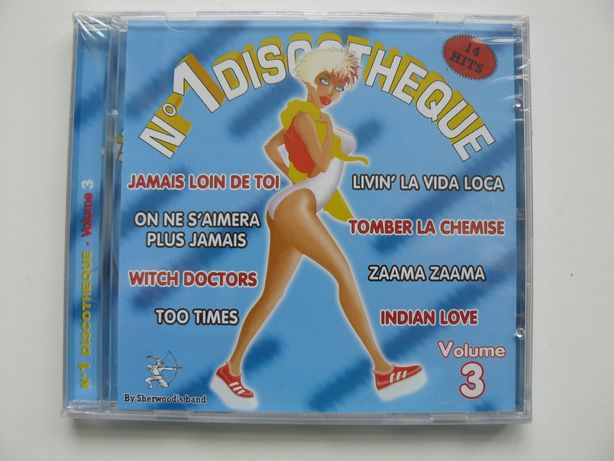 CD Compilatie No.1 DISCOTHEQUE Vol.3, Nou, Original Franta,Raritate RO