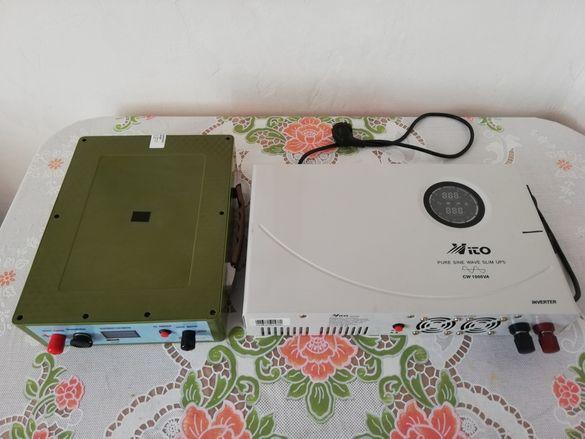 Инвертор за ток  Vito 1000VA и Литиев акумулатор