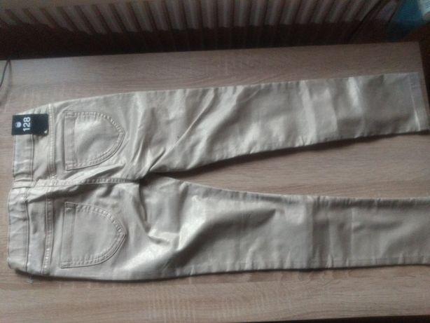 Pantaloni bej-aurii C&A Palomino 128 pret