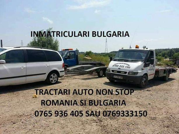 Inmatriculari mașini în BULGARIA într-o zi! Acte auto, asigurare