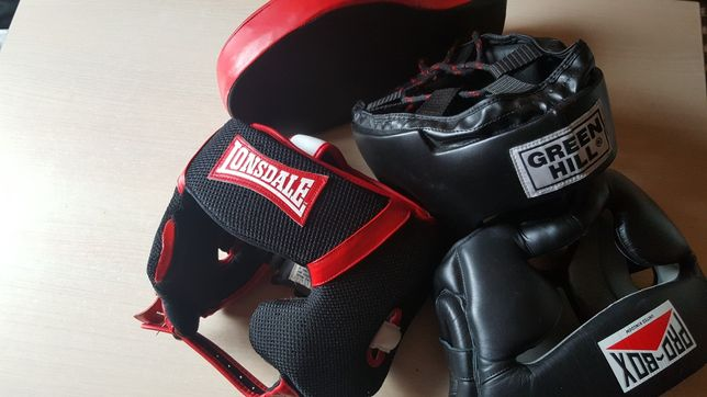 Casca box sportContact Lonsdale proBox greenHill