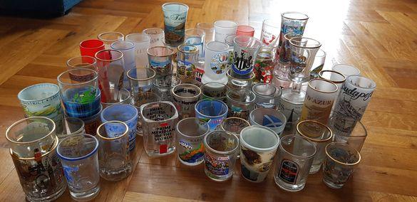 Колекция шот чаши от различни държави 70 броя