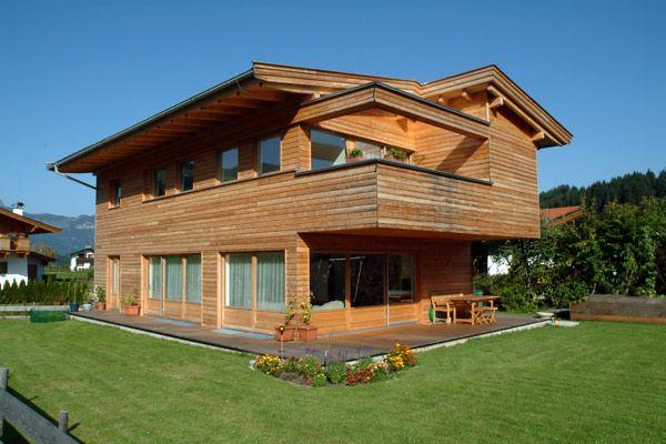 Case moderne din lemn