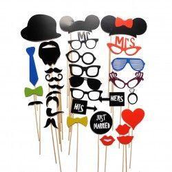 Комплект парти маски за вашият празник!