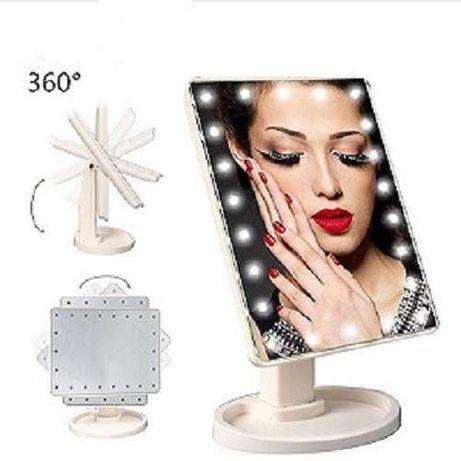 Oglinda cu touch si LED pentru machiaj