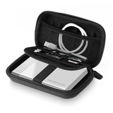 Твърд калъф за външен хард диск или PowerBank с 4 отделения