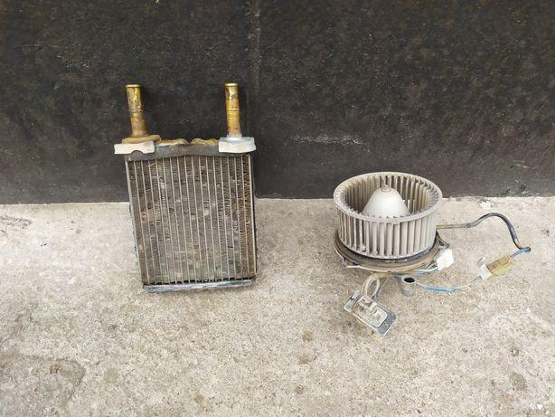 Радиатор и Вентилятор печки Реостат