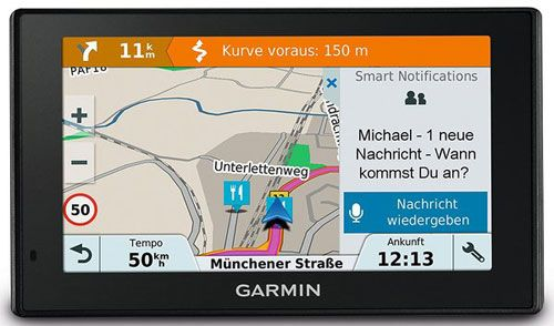 GPS Garmin DriveSmart 51LMT + карта на Европа Lifetime