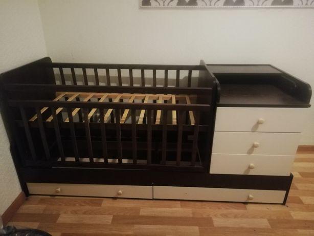 Срочно Срочно Срочно продам детскую кроватку