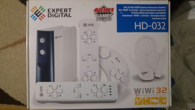 Expert Digital Consola WiWi Sports Interactive HD032