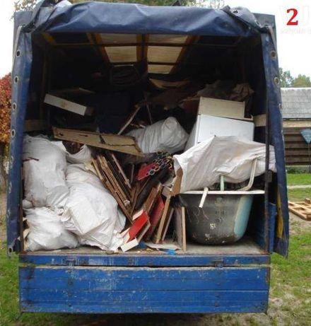 Газели. Вывоз старой мебели, строй мусора и хлама на свалку.