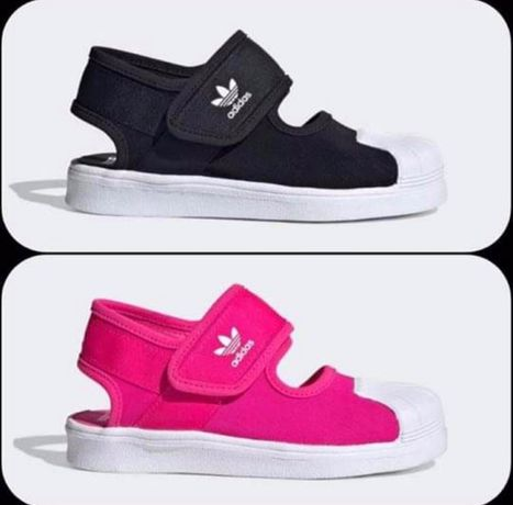 Sandale adidas 29 negru si 31,5 roz