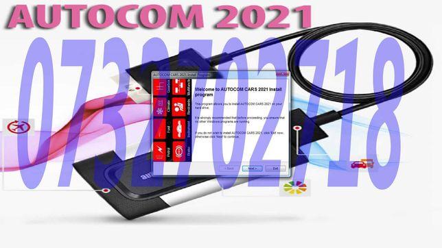 Tester Diagnoza  Multimarca AUTOCOM Bluetooth  SET CABLURI AUTO inclus