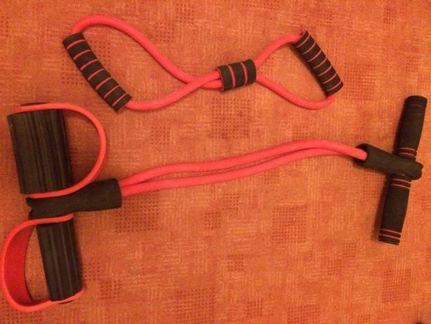 Set benzi/corzi elastice antrenament fitness