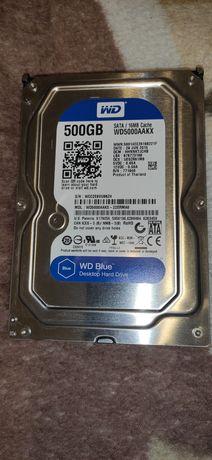 Продаю жёсткий диск WD Blue на 500 Гб