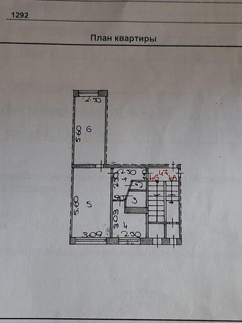 Продаётся 2-х комн квартира