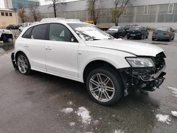 На Части Audi Q5 3.0TDI 2010 година 239кс. Помпа дюзи скоростна кутия