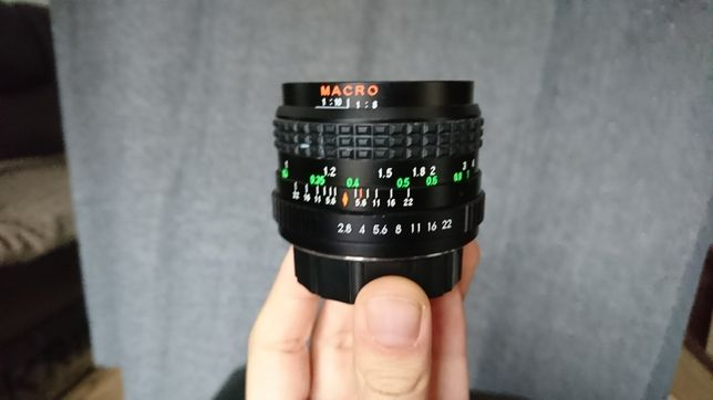 Obiectiv foto SICOR - XL 28mm f:2.8 MACRO