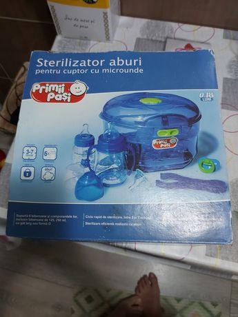 Vand sterilizator cu abur pentru cuptorul cu microunde